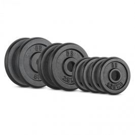 CAPITAL SPORTS IPB 20 kg set, súlytárcsa készlet, 4 x 1,25 kg + 2 x 2,5 kg + 2 x 5 kg, 30 mm