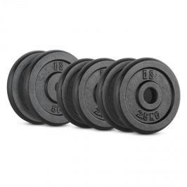 CAPITAL SPORTS IPB 20 kg set, súlytárcsa készlet, 4 x 2,5 kg + 2 x 5 kg, 30 mm