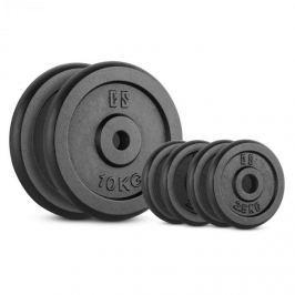 CAPITAL SPORTS IPB 30 kg készlet, tárcsasúly készlet, 4 x 2,5 kg + 2 x 10 kg, 30 mm