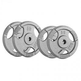 CAPITAL SPORTS IP3H 30 kg készlet, tárcsasúly készlet, 2 x 5 kg + 2 x 10 kg, 30 mm
