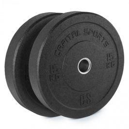 CAPITAL SPORTS Renit, hi temp gumikerék, 50,4 mm, alumínium mag, gumi, 2 x 15 kg