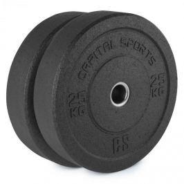 CAPITAL SPORTS Renit, hi temp gumikerék, 50,4 mm, alumínium mag, gumi, 2 x 25 kg