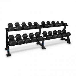 CAPITAL SPORTS Dumbbell Rack Set, állvány súlyzókra, készlet, 20 hely, 10 x pár súlyzó