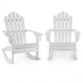 Blumfeldt Rushmore, fehér, két hintaszék, adirondack, 71x95x105cm
