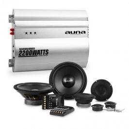 Auna Silverhammer, HiFi összeállítás autóba, hangfal készlet/kétcsatornás végerősítő