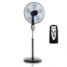 Klarstein Summerjam, álló ventilátor, fekete, 41 cm, 50 W, 3 sebességfokozat, 69,18 m³/min. légáramlás, távirányító mellékelve