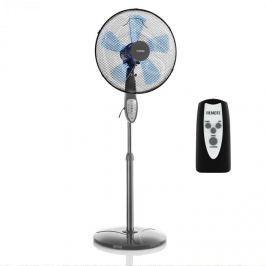 Klarstein Summerjam, álló ventilátor, szürke, 41 cm, 50 W, 3 sebességfokozat, 69,18 m³/min. légáramlás, távirányító mellékelve