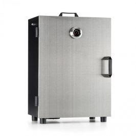 Klarstein Flintstone Steel, 800 W, elektromos füstölő, füstölő kemence, nemesacél