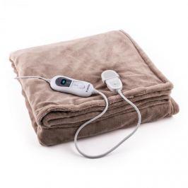 Klarstein Dr. Watson XXL melegítő takaró, 120 W, mosható, 200x180 cm, mikroplüss, bézs