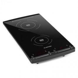 Klarstein VariCook Slim indukciós főzőlap, 2 főzőlap, 2900W, 60-240 °C, fekete