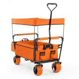 Waldbeck The Orange Supreme, kézikocsi, összecsukható, 68 kg, napellenző