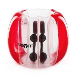 Klarfit Bubball KR Bubble Ball, buborékfoci gyerekeknek, 75x110cm, EN71P PVC, piros