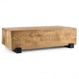 Blumfeldt Blockhouse Lounge hasáb alakú asztal, kerti asztal, timber-table, 120x30x60 cm
