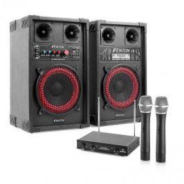 Electronic-Star Karaoké szett STAR-Mitte, hangfalak, vezetéknélküli mikrofon