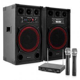 """Electronic-Star Karaoke szettek""""STAR-Kreuzberg"""", SPB-12 Aktív/Passzív 12"""" PA Hangfalak 800 W"""