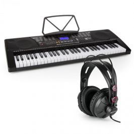SCHUBERT Etude 225 USB keyboard fülhallgatóval, 61 billentyű, USB, LCD kijelző