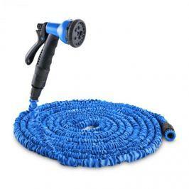 Waldbeck Water Wizard 15 flexibilis kerti locsolócső, 8 funkció, 15 m, kék