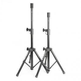 Vonyx PA hangfal állvány pár, 2 x hangfal állvány, 69-135 cm-es karima, fekete