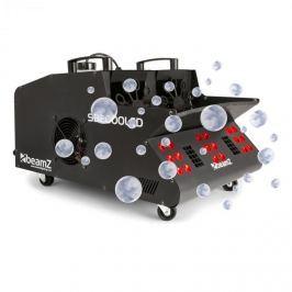 Beamz SB2000LED füstgép + buborékfújó, RGB LED, 2000 W, 1,35 l tartály, DMX