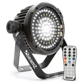 Beamz BS98 LED-strobe stroboszkóp, 98xSMD-LED, DMX, fehér, IR távirányító