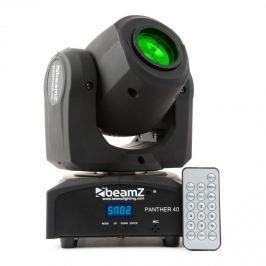 Beamz Panther 40, 45 W, LED forgófej, moving-head, 7 minta, 7 szín, DMX, infravörös távirányító
