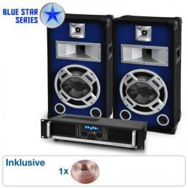 "Electronic-Star PA SET BLUE STAR SERIES ""BEATBASS I"" 800 W"