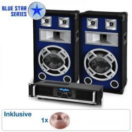 "Electronic-Star PA SET BLUE STAR SERIES ""BEATBASS II"" 1200 W"