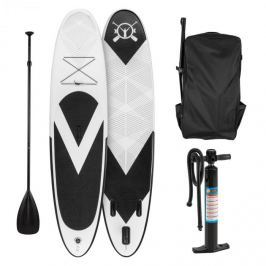 Klarfit Spreestar, fekete-fehér, felfújható paddle board, SUP deszka, 300x10x71cm