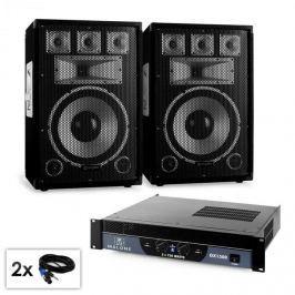 """Electronic-Star Saphir Series """"Warm Up Party"""" 12plus II PA szett, 2x 12"""" hangfallal és erősítővel, 1500W"""