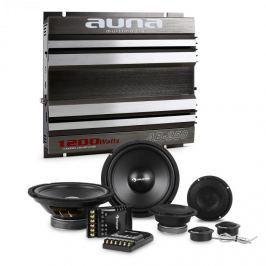 Auna CS Comp 8, HiFi összeállítás autóba, hangfal készlet/kétcsatornás végerősítő