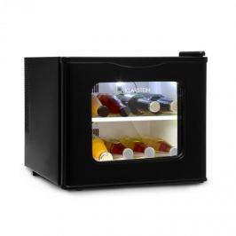 Klarstein Winehouse minibár, 17 liter, 60 W, A++ osztály, 38 dB, üvegajtó, fekete
