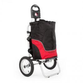 DURAMAXX Carry Red, biciklis kocsi, kézikocsi, max. teherbírás 20 kg, fekete-piros