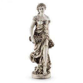 Blumfeldt Ceres szobor, kézi készítésű, 1,2 m, üvegszálas-MgO, természetes alabástrom megjelenés
