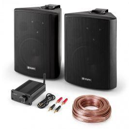 Skytec Bluetooth Play BK, PA HiFi készlet, két hangfal, mini erősítő bluetooth-tal, kábel
