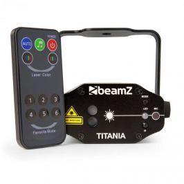 Beamz Titania dupla lézer, 200mW, RG Gobo, 3B lézer osztály, IR távirányító