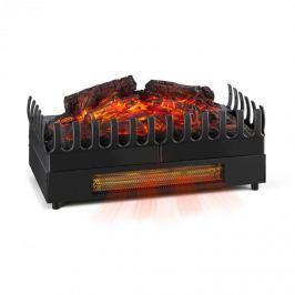 Klarstein Kamini FX elektromos kandalló, kandallóbetét, 1000/2000W, 2W LED, fekete