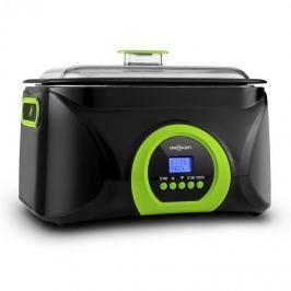 OneConcept Sanssouci Sous Vide lassú főző, 5 l, 300 W, fekete/zöld