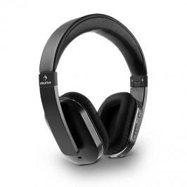 Auna Elegance Bluetooth-NFC fejhallgató, aptX, akkumulátor, handsfree, műbőr, fekete