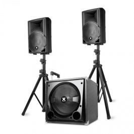 """Vonyx VX800BT 2.1 aktív hangfal készlet, 800 W, 12"""" subwoofer, 2x8'' hangszóró, BT, USB, SD"""