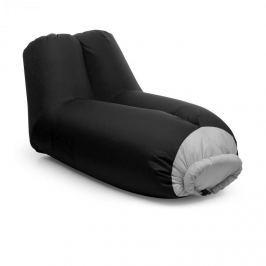 Blumfeldt AIRLOUNGE, felfújható ülőke, 90x80x150cm, hátizsák, mosható, poliészter, fekete