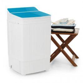 OneConcept Ecowash Deluxe kemping mosógép, 4 kg, 290 W, időzítő, centrifuga, kék