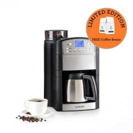 Klarstein Aromatica Thermos kávéfőző, daráló, termosz, aroma+, nemesacél