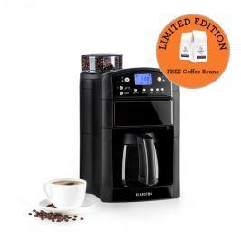 Klarstein Aromatica Thermos kávéfőző, daráló, termosz, aroma+, fekete