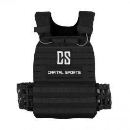 CAPITAL SPORTS Battlevest, súlymellény súlyokkal, 2 x 5,75 lb, 2 x 8,75 lb, fekete