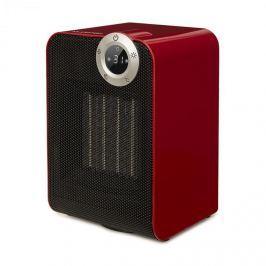 Klarstein Cozy Cube, kerámia hősugárzó, meleglevegős, 900/1800W, billentett, 10-35°C, időzítő, piros