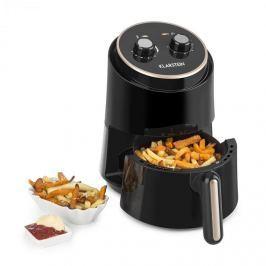 Klarstein Wel Air Fry, meleglevegős olajsütő, 1230W, biztosíték a túlforrósodás ellen, 1,5 l, fekete