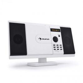 Auna MCD-82 sztereó berendezés, DVD-lejátszó, USB, SD, fehér