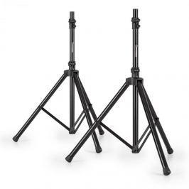 Malone Speaker Alu, két állvány PA hangfalakra, 25 kg, fekete