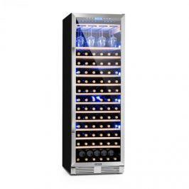Klarstein Vinovilla Grande nagy kapacitású borhűtő, 425 l, 165 palack, 3 színű LED, üvegajtó