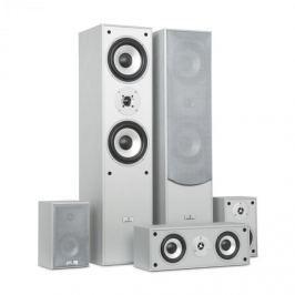 Auna surround hangfal szett, házimozi, 335 W, RMS, ezüst